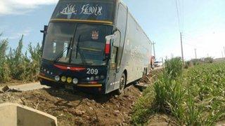 Chimbote: desvalijan a 50 pasajeros de un bus interprovincial