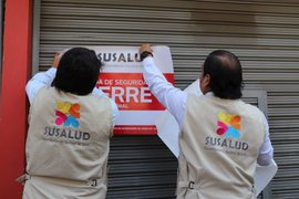 Tacna: cierran temporalmente 15 centros de salud informales