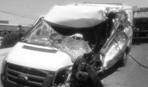Cinco heridos deja triple choque en San Luis