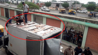 Hallan 250 kilos de marihuana 'cripy' camuflados dentro de un camión en Tumbes