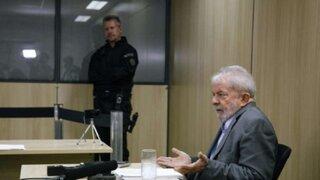 Brasil: Lula llora durante su primera entrevista desde prisión