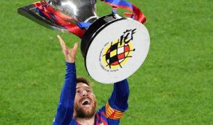 Lionel Messi consigue su título 34 con el FC Barcelona