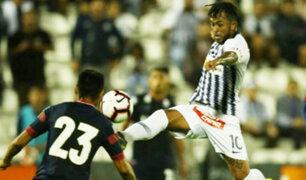 Alianza Lima consiguió un triunfo luego de 10 partidos