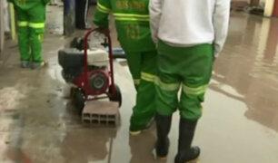 Chorrillos: vecinos denuncian que reacción del municipio ante desborde es insuficiente