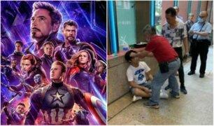 Avengers Endgame: hombre fue golpeado por revelar spoilers del film
