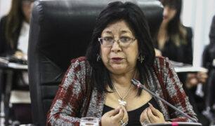 María Elena Foronda: tres bancadas piden que congresista solo sea amonestada