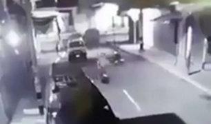 Chincha: extorsionadores incendian centro comercial