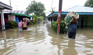 Indonesia: 40 personas fallecidas por deslizamientos e inundaciones