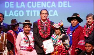 Puno: descontaminación del lago Titicaca beneficiará a más de 1 millón de habitantes