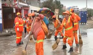Chorrillos: desborde de río Surco causa aniego
