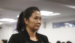 Keiko Fujimori: admiten a trámite recurso de casación para anular prisión preventiva