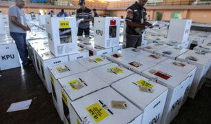 Indonesia: más de 270 mueren de fatiga en conteo electoral de votos