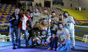 Jesús 'Rayo' Bravo conquistó el título nacional de boxeo