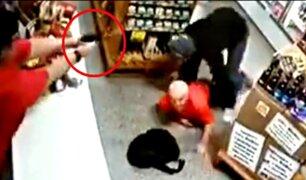 Mujer dispara a delincuente que quería robar su minimarket