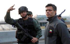 Leopoldo López abandona embajada de Chile en Caracas y se trasladó a la de España