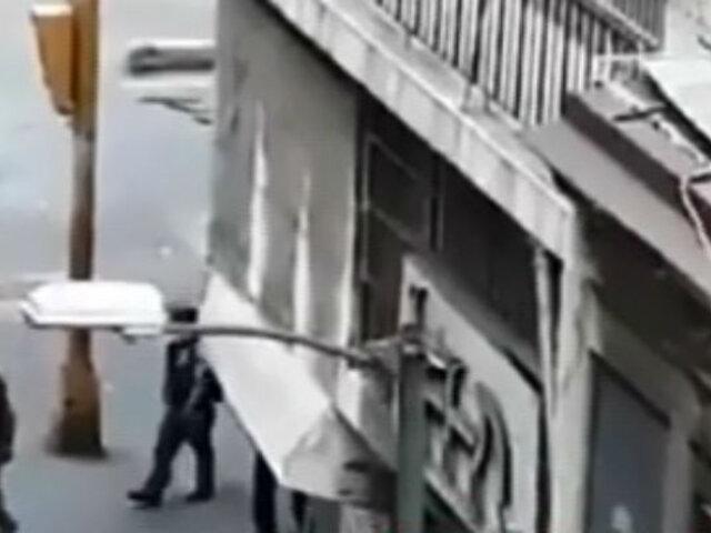 Venezuela: colectivos chavistas dispararon a manifestantes en Caracas
