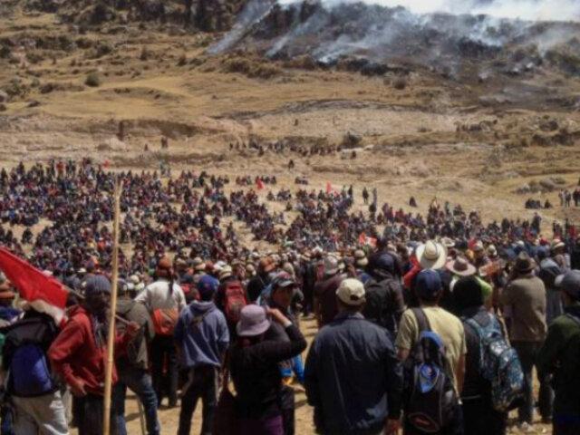 Las Bambas: inicia mesa de diálogo que busca solucionar conflicto minero