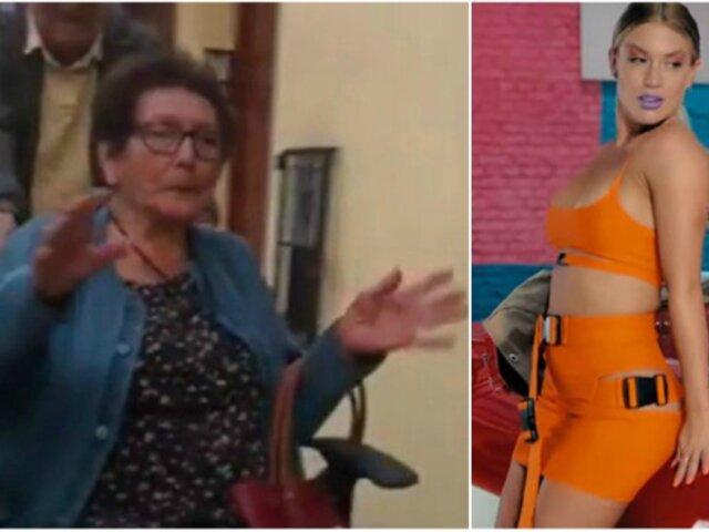 'La abuela Norma' bailó al ritmo del nuevo éxito de Leslie Shaw [VIDEO]