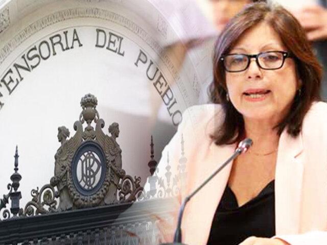 Menor embarazada por violación: Defensoría del Pueblo niega haberse pronunciado a favor de aborto terapéutico