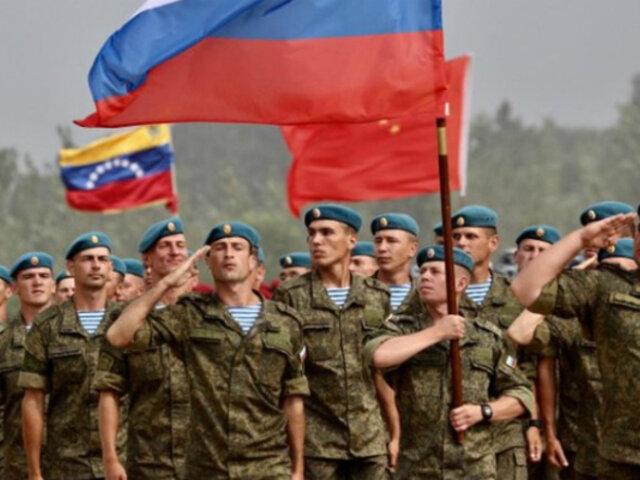 Venezuela espera llegada de nuevas misiones militares rusas