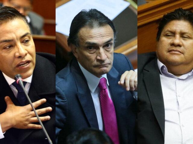 Ética abrirá investigación contra congresistas Vieira, Becerril y Ushñahua