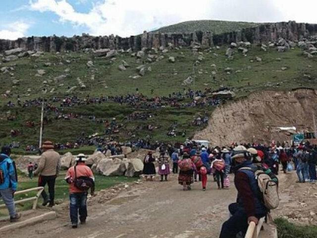 Las Bambas: presidentes comunales de Challhuahuacho ratifican acuerdo y desbloquean vía