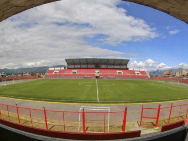 Cajamarca: inauguran campo sintético en Estadio Héroes de San Ramón
