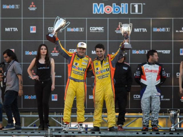 Mario Hart ganó la primera fecha del Campeonato del Rally Mobil de Chile