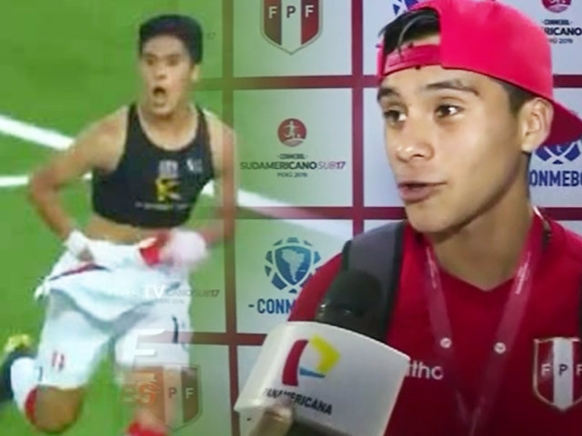 EXCLUSIVO | Mathias Llontop habló para Teledeportes tras triunfo ante Uruguay