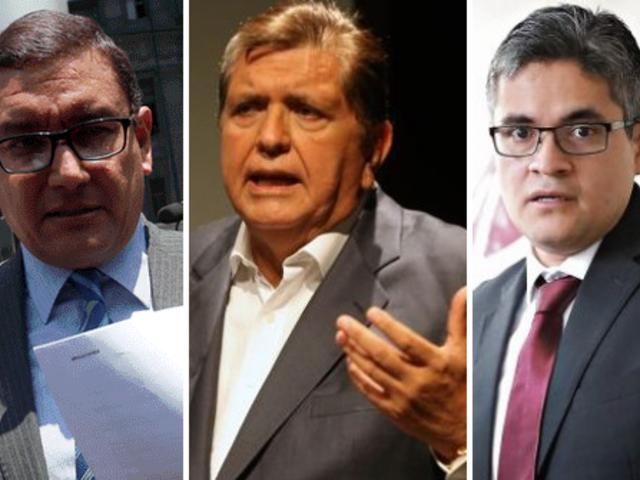Abren indagación contra fiscales Pérez y Amenabar tras la muerte de Alan García