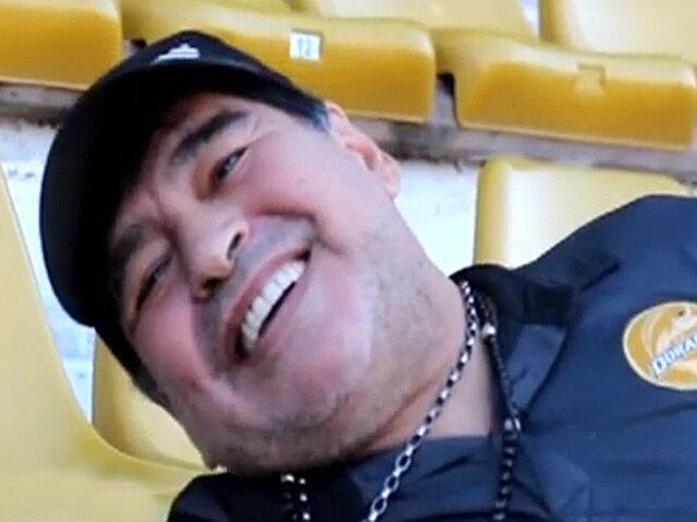 Maradona confesó su amor por varias personas