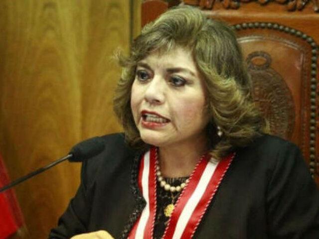 """Zoraida Ávalos: """"La junta de fiscales supremos carece de atribuciones para apartar a fiscales"""""""