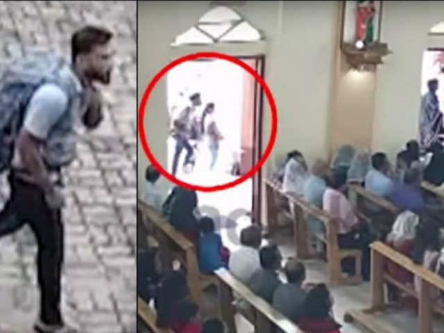 Terrorista suicida llega a iglesia de San Sebastián