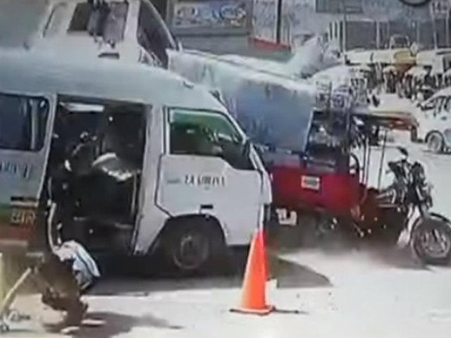 Jicamarca: tráiler fuera de control dejó 14 personas heridas