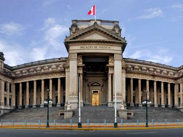 Corte Suprema: Tercera Sala de Derecho Constitucional resolvió 261 causas en emergencia