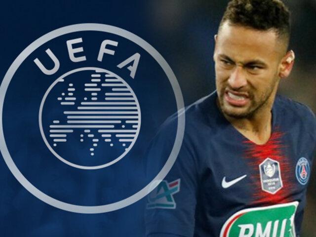 Neymar Jr.: UEFA sanciona a crack por