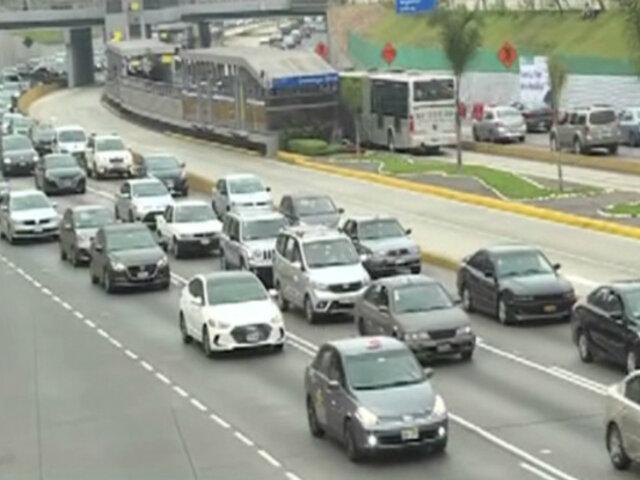 Vía Expresa: conductores fastidiados por cierre de carril