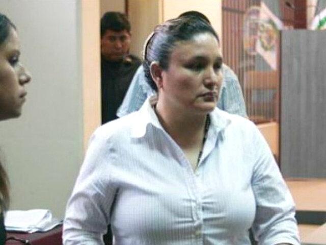 Abencia Meza: ratifican pena de 30 años por crimen contra Alicia Delgado