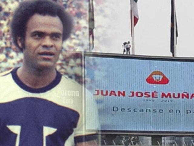 Pumas de México realizó emotivo homenaje a Juan José Muñante