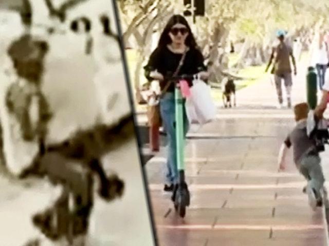 Con mi vereda no te metas: scooters generan caos por su mal uso