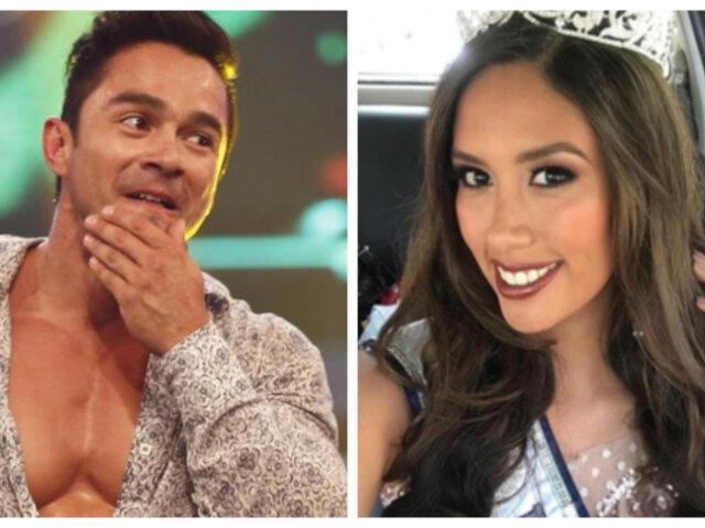 André Castañeda: ''Claudia Meza me llamó para disculparse''