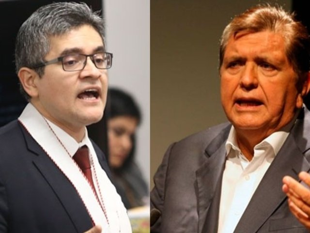 Poder Judicial evalúa pedido de fiscal Peréz acerca de incautación del celular de Alan García