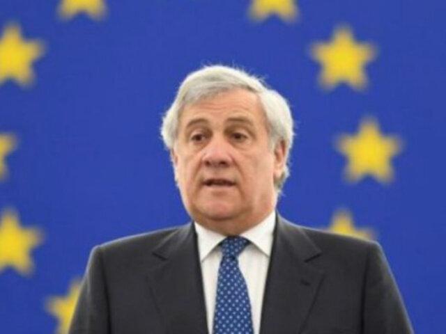 Parlamento Europeo respalda a Guaidó tras levantamiento militar en Venezuela