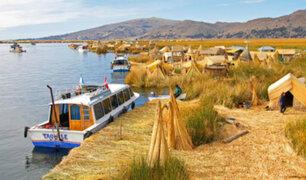 Puno: empresas mexicanas limpiarán agua del lago Titicaca