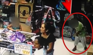 Niños son utilizados para robar en tiendas