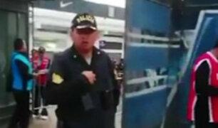 Denuncian que policía impidió ingreso de menor de edad al estadio de Matute