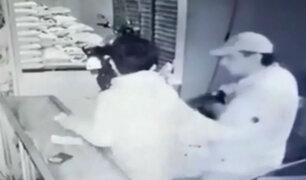 San Martín: dueño de tienda se enfrentó a asaltantes