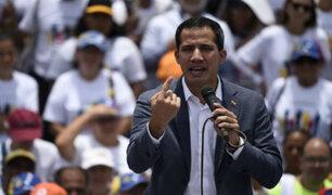 Venezuela: Guaidó lidera nueva manifestación para presionar a Maduro