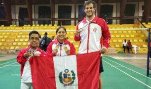 Perú gana 5 medallas en torneo de Parabádminton en Uganda
