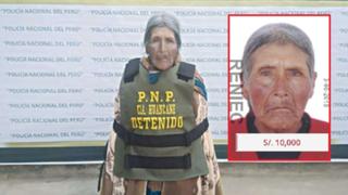 Capturan a anciana de 72 años que figuraba en la lista de 'Los más buscados'